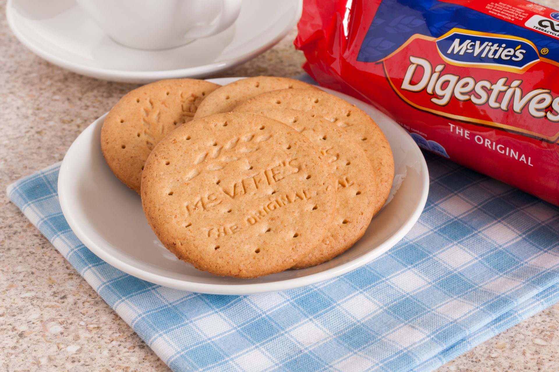 OmPrompt | McVitie's biscuits on a plate